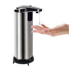 Soap Dispenser Touchless Stainless Steel Automatic Soap Dispenser Motion Sensor