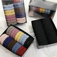 20X Girls Elastic Hair Ties Band Rope Ring Ponytail Holder Accessories Scrunchie
