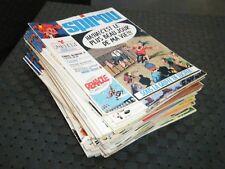 lot de 31 journaux de SPIROU année 37 1974 entre le n°1864 et le n°1899