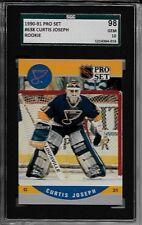 1990-91 Pro Set #638 CURTIS JOSEPH Rookie SGC 98 Gem Mint