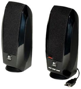 Logitech Audio USB Speaker with Digital Sound For Computer Desktop PC Laptop New