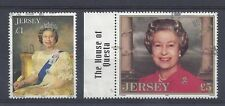 Jersey 1993-6 £1 & £5 Stamps