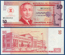PHILIPPINEN  / PHILIPPINES  50 Piso 2012 ASEAN UNC  P. NEW
