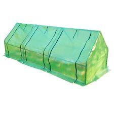 Outsunny  Serra da Giardino per Piante con Telo in PE Telaio in Acciaio, verde