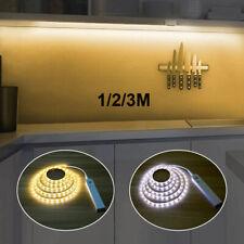 Wireless PIR Motion Sensor LED Strip Lights Battery Powered Closet Wardrobe Lamp