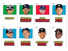 2012 Topps Archives Stickers - Complete Set - 25 Cards