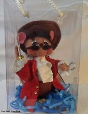 ANNALEE: 2004 inch Story Book Mice CAPTAIN HOOK. MACY'S EXCLUSIVE