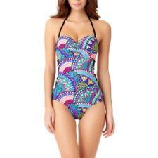 No Boundaries Juniors' Samba One Piece Swimsuit Size L (11-13)