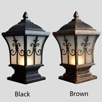 Pillar lamp Outdoor Wall Light Garden Gate Post Wall Lighting Glass Wall Sconces