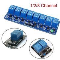 10A AC250V/DC30V AVR 1/2/8 Channel Arduino Board Optocoupler LED Relay Module