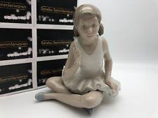 Lladro Nao Figur Mädchen sitzend 14,3 cm 1 Wahl Top Zustand