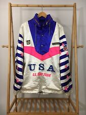 RARE VTG Goldwin USA Ski Team Grailed Pullover Hooded Windbreaker Jacket Sz XL