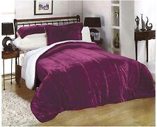 Down Alternative Super Soft Plush Sherpa Hypoallergenic Comforter Blanket