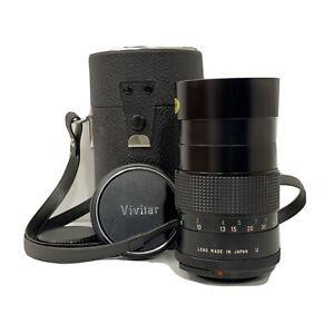Vivitar Vintage Auto Telephoto 135mm 1:2.8 Lens for Minolta MD Mount