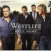 Westlife - Back Home (2007) Charity Sale C12-19 #CE