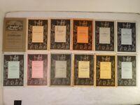 Konvolut 12 Hefte Theater Jugendborn-Sammlung Sauerländer & Co. Aarau