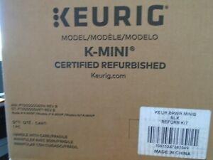 KEURIG K-MINI Coffee Maker Brewer Matte BLACK 2020 Model Refurbished