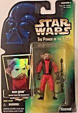 Star Wars Nien Nunb Action Figure - Kenner The Power of the Force Collection 2