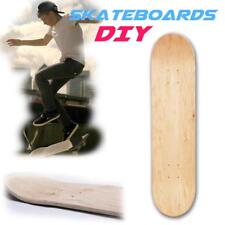 8inch Natural Maple Wooded DIY Double Concave Skateboards Skate Deck Board