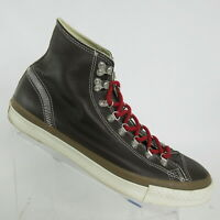 Converse Chuck Taylor All Star Hi Brown Leather Hiker Shoes 132380C Mens Size 10