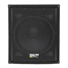 SKP PRO AUDIO SK-1825 Professional Passive Stage Vented Bass Subwoofer Enclosure