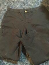 womans black capri pants, size 8, faded glory brand