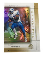 1999 SP Authentic - Athletic #A-6 Barry Sanders Detroit Lions