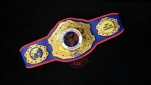 WKB World Kick Boxing Championship Wrestling Belt Adult Size Title