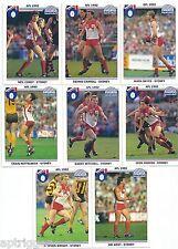 1992 Regina SYDNEY Team Set  - Mint (8 Cards)