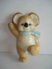 Vintage Gibson Koala Statue Wall Decor Japan Children Nursery