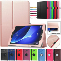"""Leather Stand Cover Case For Samsung Galaxy Tab A 7"""" 8"""" 10.1"""" SM-T510 T720 2019"""