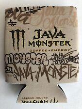 Monster Energy Java Monster Koozie New Double Sided Logo