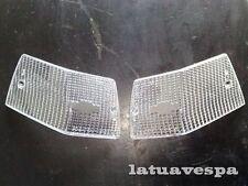 Frecce gemme BIANCHE  posteriori Vespa PX 125 150 PE 200 Arcobaleno T5 LML