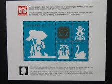 Denmark Christmas Stamp Christmas Seal Foundation Hafnia 2001 exhibition