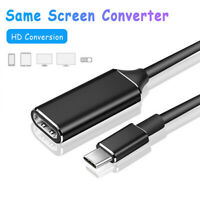 USB-C HUB Type-C to HDMI HD TV Adapter USB 3.1 4K Converter for Laptop Computer
