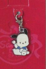 7-11 HK Sanrio 50th Anniversary Crystal Charm Pachacco Swarovski White Dog