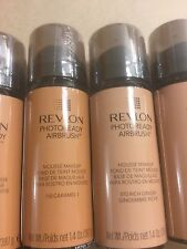 36 X Revlon PhotoReady Airbrush Mousse Makeup Foundation TWO SHADES New + Sealed