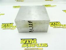 "8LBS SOLID 6061 ALUMINUM BAR STOCK 2-1/2"" X 5"" X 5"""