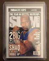 2020-21 Panini NBA Hoops Shaq Shaquille O'Neal LA Lakers Slam Insert #9