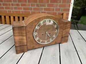 Alte Uhr Kaminuhr Tischuhr Buffetuhr Kienzle Mit Potsdamer Gong Selten RAR
