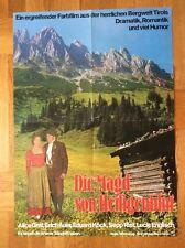 Magd von Heiligenblut (Kinoplakat '70er ) - Alice Graf / Erich Auer