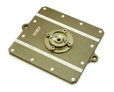 CNC Machined Alloy Fuel Cell Cover for Axial 1/10 Scale Yeti Rock Racer