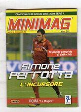 MINIMAG CAMPIONATO 2008-2009 - ROMA N. 202 SIMONE PERROTTA