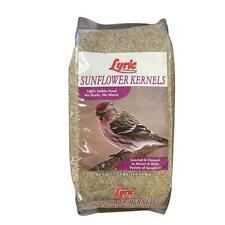 Lyric Wild Bird Food Sunflower Kernel Seed Variety Songbird No Waste 25 lb Bag