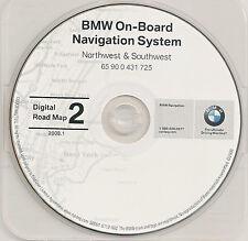 2000 2001 BMW 740i 740iL 745i 745Li X5 M5 Z3 NAVIGATION GPS CD NW SW OR UT WA WY