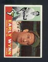 1960 Topps #1 Early Wynn VGEX White Sox 123010