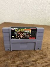 Snes Donkey Kong Country 2 Diddy's Kong Quest Cart Label Damage