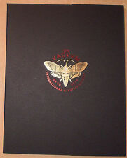 The Vacvvm Artist Portfolio One 1 Aaron Horkey Ken Taylor Signed #d COMPLETE New