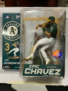2007 Mcfarlane MLB 17 Eric Chavez Oakland Athletics A's Action Figure