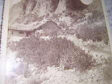 1885.photographie ferme près La Paz.Bolivie.Cordiglia